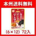 (本州送料無料!)カンロ 海苔と紀州梅のはさみ焼き 4.8g×(6×12)72入