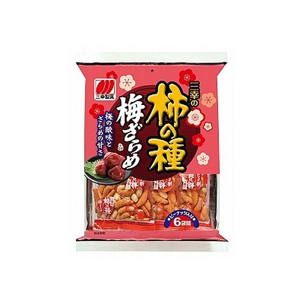 三幸製菓 三幸の柿の種 梅ざらめ 140g×12袋