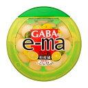 味覚糖 機能性表示食品 e-maのど飴 容器 GABA 和柑橘 6入