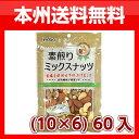 (本州送料無料)稲葉ピーナツ 素煎りミックスナッツ (10×6)60入
