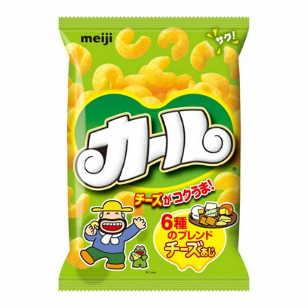 明治 カールチーズあじ 10入 【ラッキーシール対応】