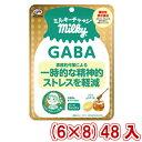 (本州一部送料無料) 不二家 70g ミルキーチャージ(GABA)袋 (6×8)48入 (Y12)