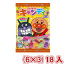(本州送料無料) 不二家 110g アンパンマンキャンディ袋 (6×3)18入