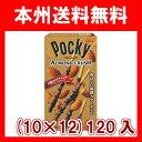 (本州送料無料)江崎グリコ アーモンドクラッシュポッキー (10×12)120入