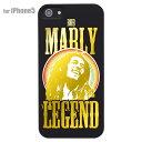iPhone5s iPhone5 iPhone SE Clear Arts iPhone ケース カバー スマホケース クリアケース ハードケース【BOB MARLEY】 ip5-08-j0012s