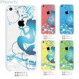 【iPhone5c ケース クリア イラスト】iPhone5c カバー ディズニー iPhone 5c ケース スマホケース アイフォン5c クリアケース クリアーアーツ case 人魚姫 08-ip5c-ca0100c 10P23Apr16