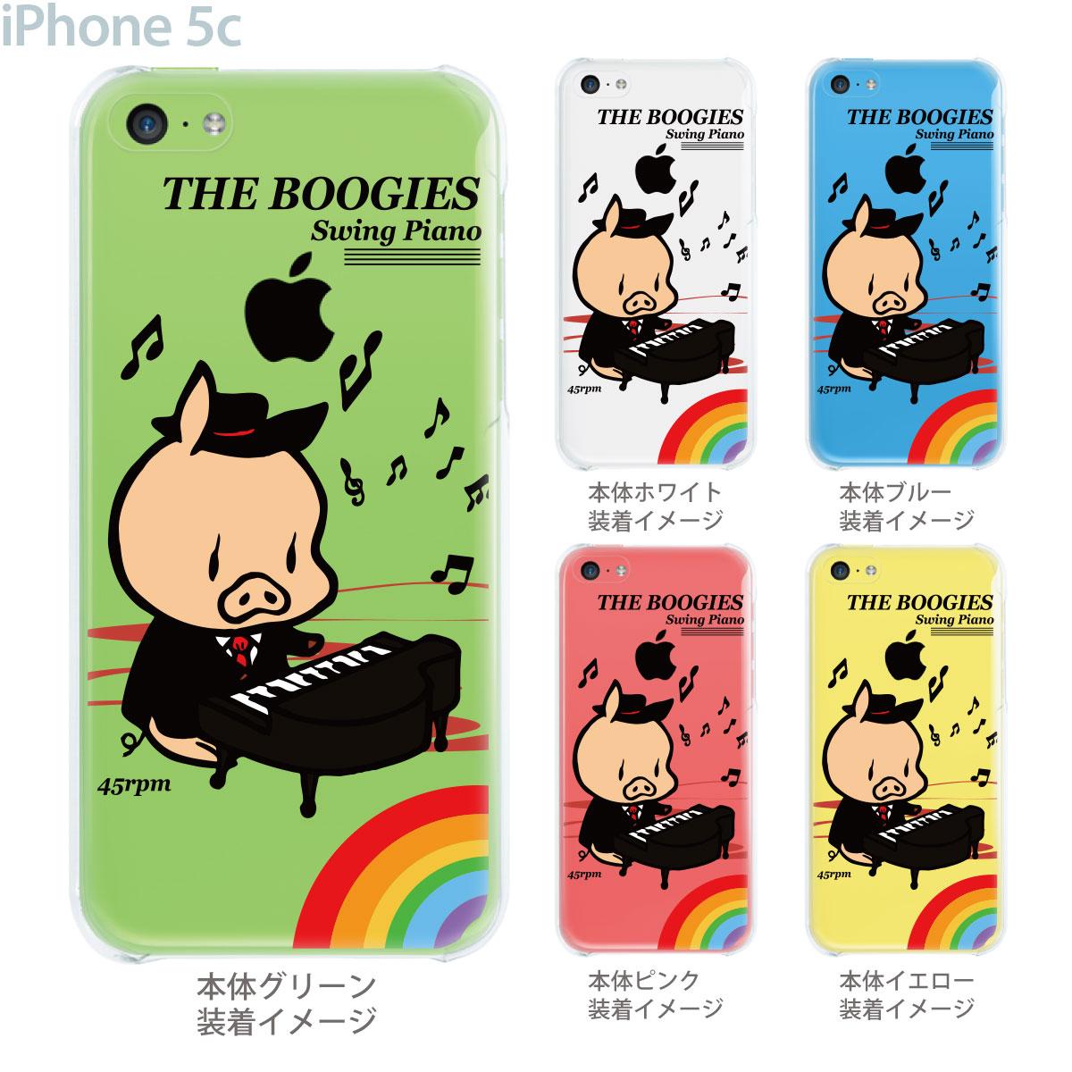 【SWEET ROCK TOWN】【iPhone5c】【iPhone5cケース】【ケース】【カバー】【スマホケース】【クリア】【クリアケース】【Clear Arts】【アート】【イラスト】 46-ip5c-sh2012