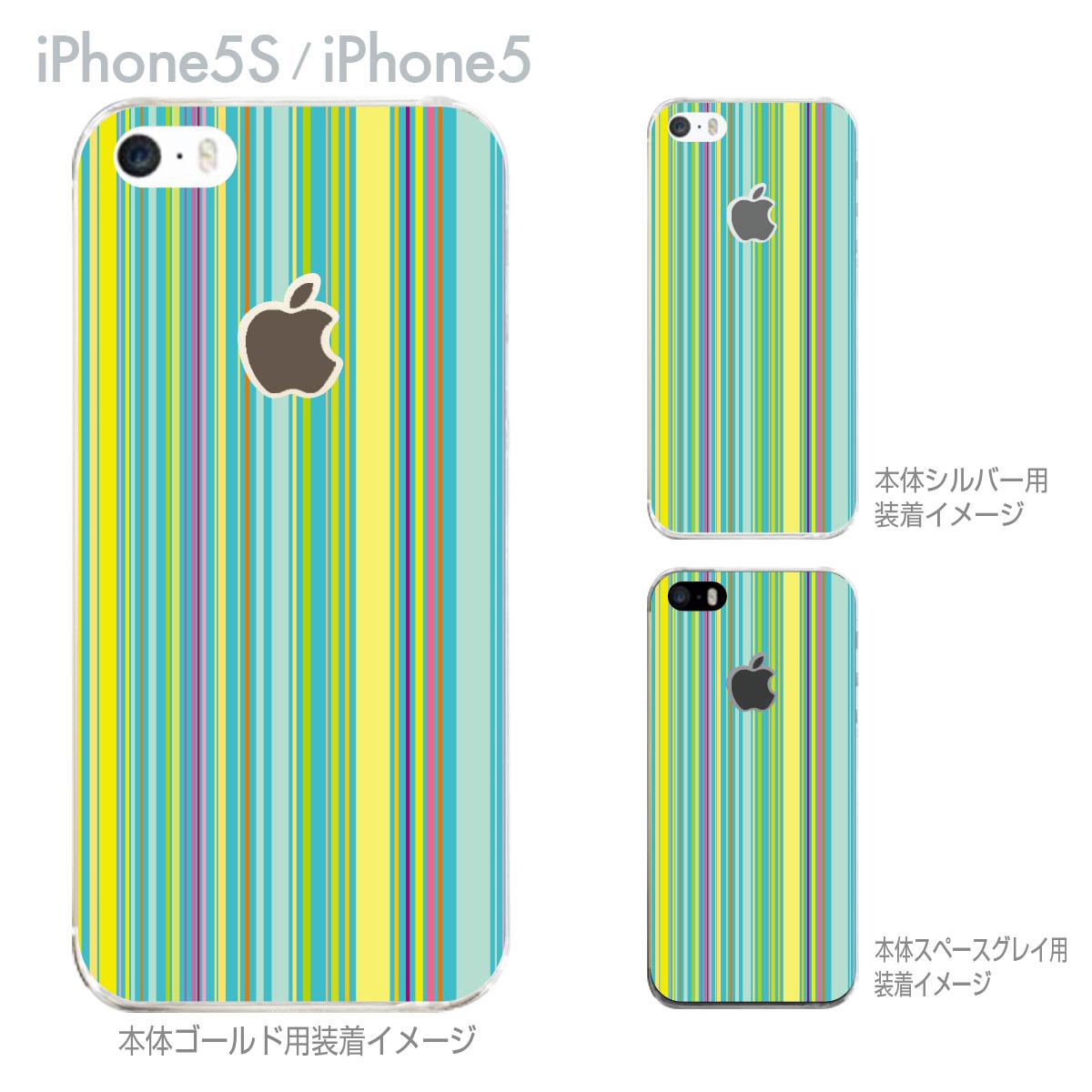【iPhone5S】【iPhone5】【iPhone5sケース】【iPhone5ケース】【カバー】【スマホケース】【クリアケース】【チェック・ボーダー・ドット】【カラーライン】 06-ip5s-ca0086