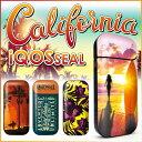 iQOS アイコス シール ケース カバー タバコ 電子タバコ ステッカー アイコスシール iQOSシール California カリフォルニア iqos-04...