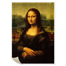 送料無料 絵画 世界の絵画 モナリザの微笑み 肖像画アートパネル・ファブリックパネル絵画油絵 芸術品プリキャンバス 木枠なし