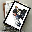 RainQueen絵画 パネル フォトフレーム DJ MONKEY APE エイプ ミュジック チンパンジー ターザン 猿の惑星 絵画 抽象画 ポップ アニマル リビング 玄関 プレゼント20P01Oct16