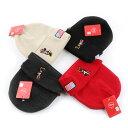 Disney - Disney Minnie Mouse Knit Cap ディズニー ミニーマウス アメリカ 国旗 ニットキャップ ニット帽 ビーニー レディース メンズ ユニセックス ペア 海外 輸入 正規品