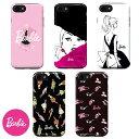 iPhone Case Barbie Doll Classic バービー 人形 ドール クラシックシリーズ ドール カラー ブラック ピンク ドレス アイフォン X 8 7 6s 6 8プラス 7プラ