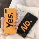 iPhone design case Yes No Travel Case iPhone ケース イエス ノー トラベル ケース 旅行 ブラック イエロー スーツケース キャリーバ..