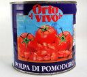 ショッピングトマト オルトビーボー ダイストマト2550g/缶 イタリア製