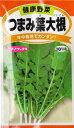 定形外郵便発送可 種子 野菜種健康野菜 つまみ葉大根(15ml)年中栽培でカンタン!プランターでも栽培可