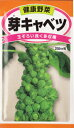 野菜種 種子芽キャベツ(2ml)子持甘藍栽培容易で生食・食味...