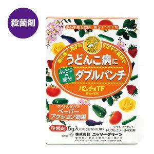 家庭園芸用殺菌剤パンチョTF顆粒水和剤(0.5L×10回分)うどんこ病の特効薬