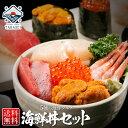 お中元 ギフト 【市場の本格海鮮丼セット】 海鮮5種 【送料