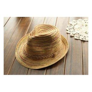 麦わら帽子 パナマ帽 レディース