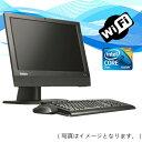 中古パソコン 無線有【Windows 10 Home】 Lenovo ThinkCentre A70z All-In-One 19インチ一体型PC Core2Duo 2.93G/2G/320GB/DVDスーパーマルチ