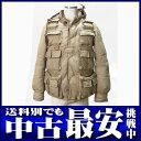 ナンバーナイン『ダウンジャケット』ベージュ コットン 3【中古】【CSF】b02f/1111w/h18BC