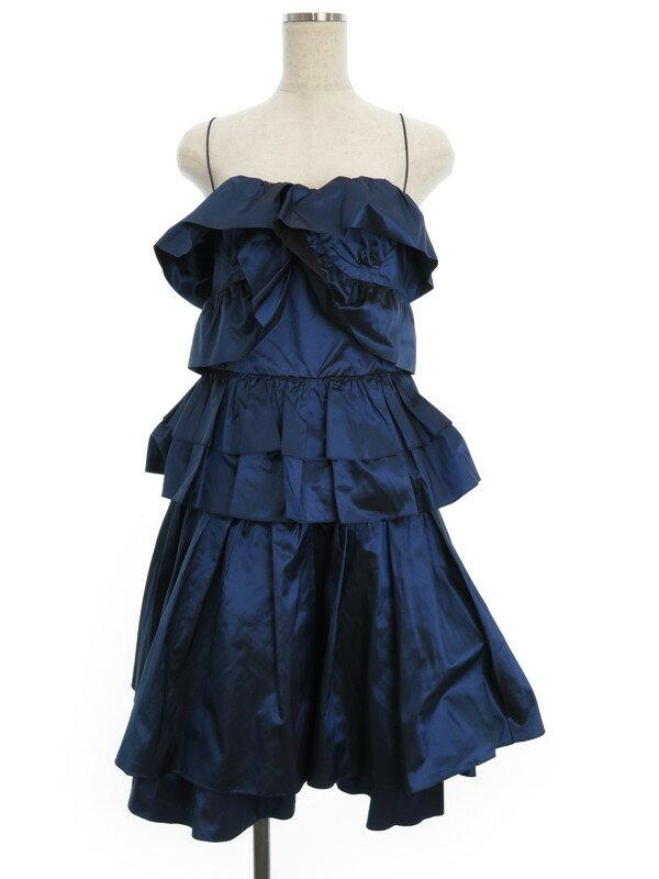 【LOEWE】ロエベ『シルク100%ドレス size38』レディース 1週間保証【中古】