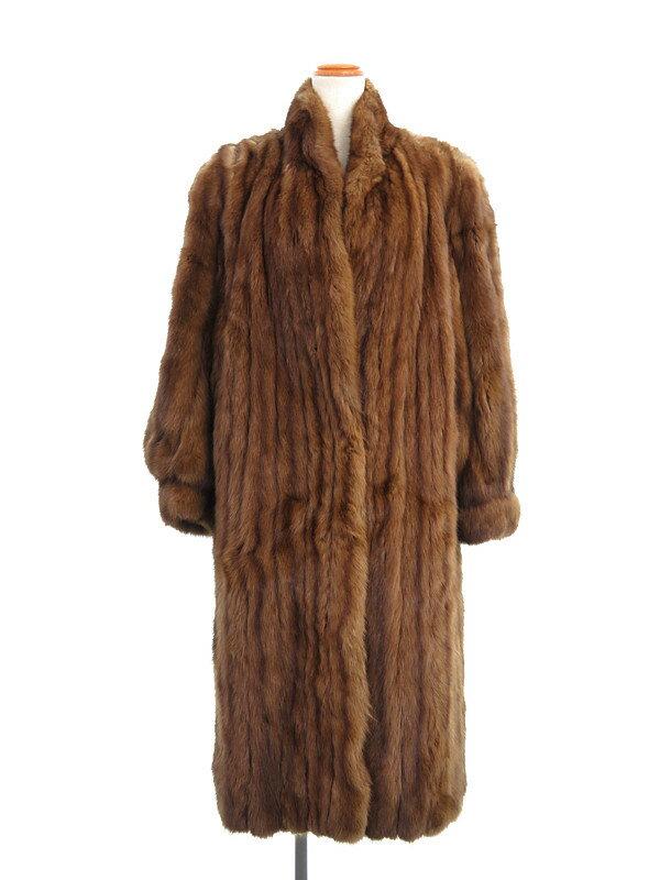 【SOBOL】【アウター】ソボル『毛皮コート』レディース 1週間保証【中古】