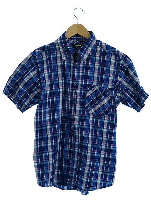 【improves】【半袖】インプローブス『半袖チェックシャツ sizeM』メンズ 1週間保証【中古】