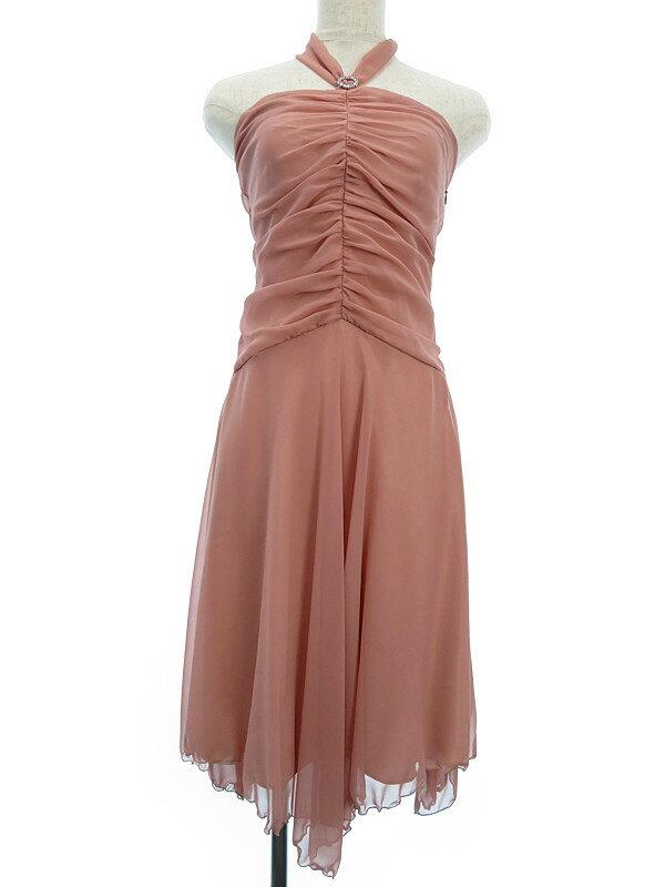 【AIMER】【フォーマル】エメ『ホルターネックドレス size9AR』レディース ワンピース 1週間保証【中古】