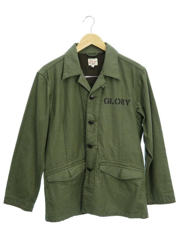 【glory】【アウター】グローリー『ミリタリージャケット sizeS』メンズ 1週間保証【中古】
