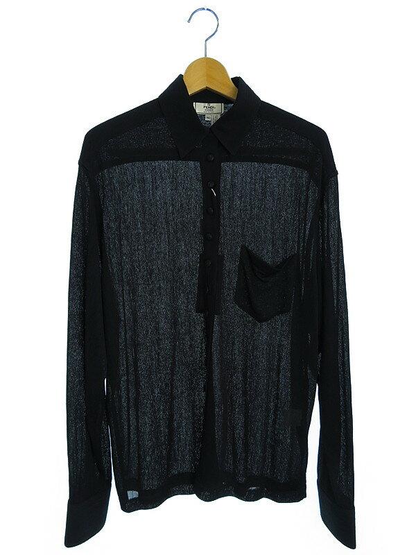 【FENDI】【トップス】フェンディ『レーヨンシャツ size44』レディース 1週間保証【中古】