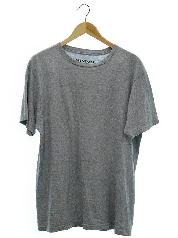 【SIMMS】【トップス】シムス『半袖Tシャツ sizeL』メンズ 1週間保証【中古】