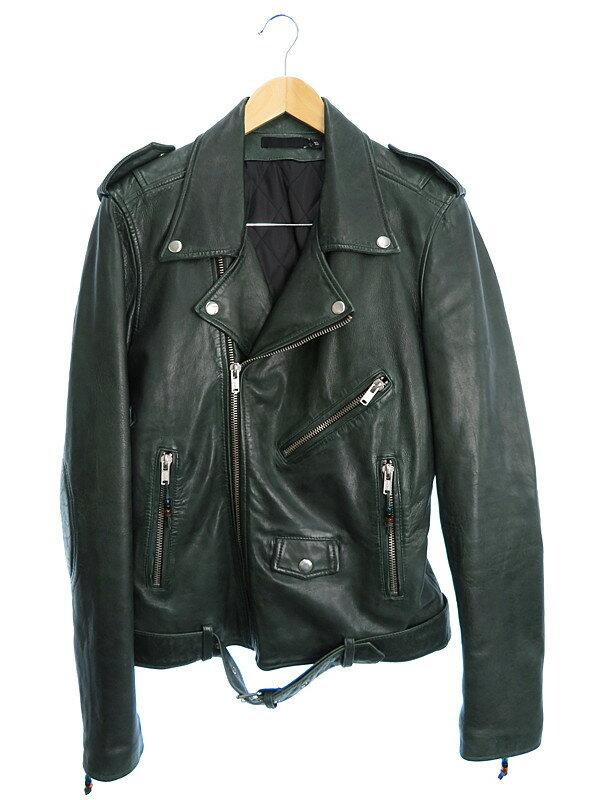 【BLK DNM】【アウター】ブラックデニム『ライダースジャケット sizeS』メンズ 1週間保証【中古】b03f/h15AB