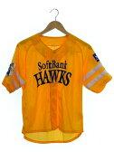 【softbank HAWKS】【トップス】ソフトバンクホークス『ユニフォームsizeS』レディース Tシャツ 1週間保証【中古】b03f/h11A