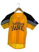【softbank HAWKS】【トップス】ソフトバンクホークス『ユニフォームsizeSS』レディース Tシャツ 1週間保証【中古】b03f/h11A