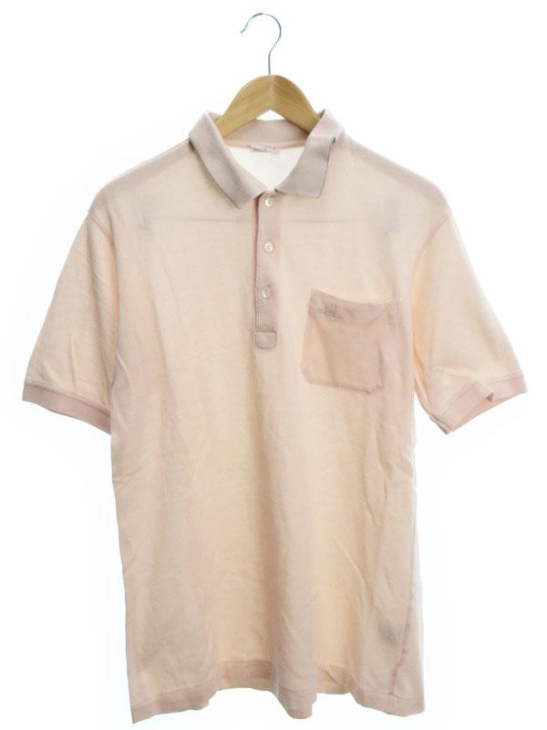 【dunhill】【トップス】ダンヒル『半袖ポロシャツ sizeL』メンズ 1週間保証【中古】