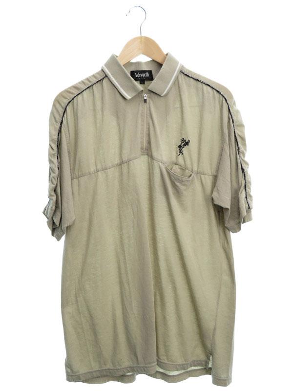 【ASHWORTH】【トップス】【ゴルフ】アシュワース『半袖ポロシャツ sizeL』メンズ 1週間保証【中古】