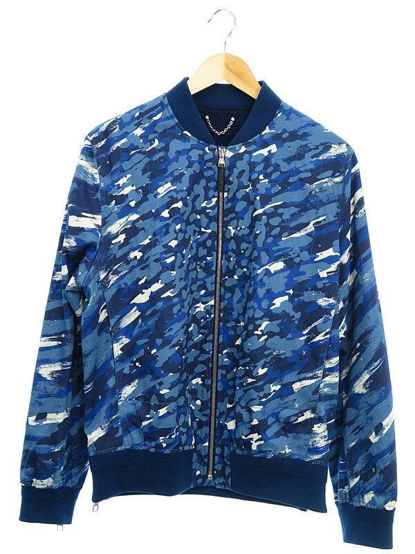 【Louis Vuitton】【アウター】ルイヴィトン『迷彩柄ジャンバー size50』メンズ ブルゾン 1週間保証【中古】