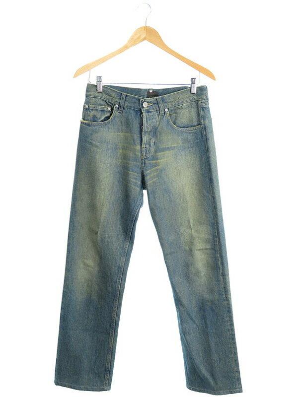 【FENDI】【ボトムス】フェンディ『ダメージ加工 デニムパンツ size30』メンズ 1週間保証【中古】