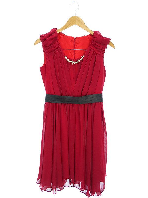 【ノーブランド】【ドレス】ノーブランド『ノースリーブワンピース sizeM』レディース 1週間保証【中古】