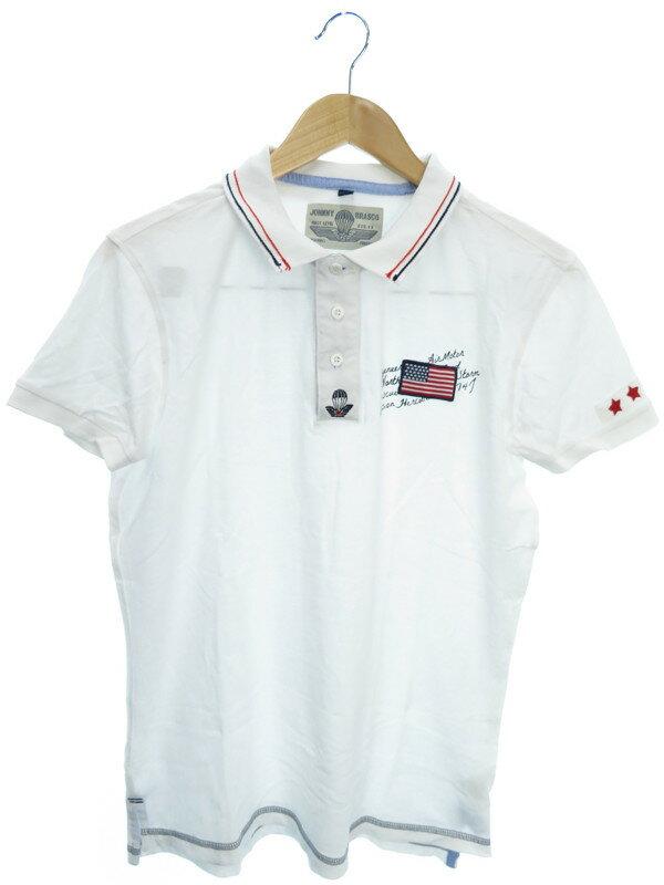【JOHNNY BRASCO】【トップス】ジョニーブラスコ『半袖ポロシャツ sizeL』メンズ 1週間保証【中古】