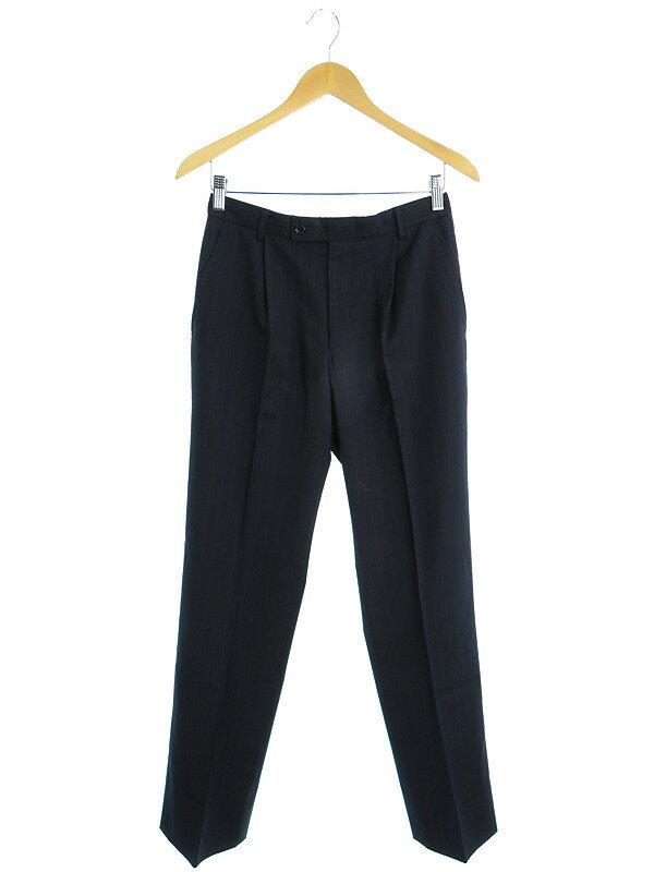 【Calvin Klein】【ボトムス】カルバンクライン『ストライプスラックス sizeW73』メンズ パンツ 1週間保証【中古】