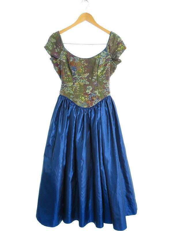 【Laura Ashley】【花柄】ローラアシュレイ『チュールスカートドレス size36』レディース 1週間保証【中古】