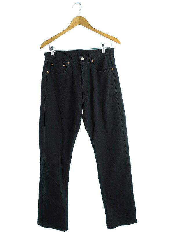 【BEAMS】【ボトムス】【デニムパンツ】ビームス『ブラックジーンズ size30』メンズ ジーパン 1週間保証【中古】