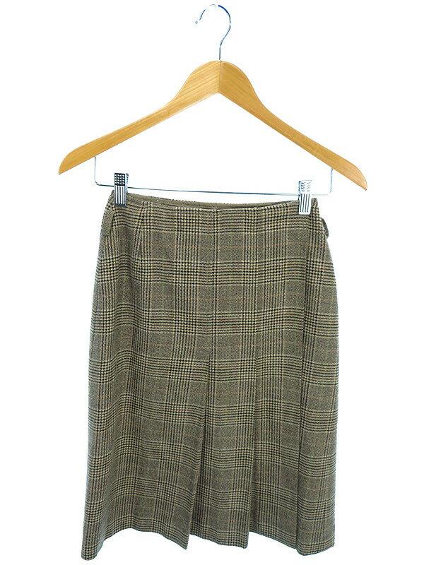 【'S Max Mara】【ボトムス】エスマックスマーラ『チェック柄巻きスカート size36』レディース 1週間保証【中古】