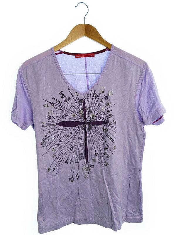 【RIELABO】【トップス】リエラボ『Vネックカットソー size48』メンズ Tシャツ 1週間保証【中古】