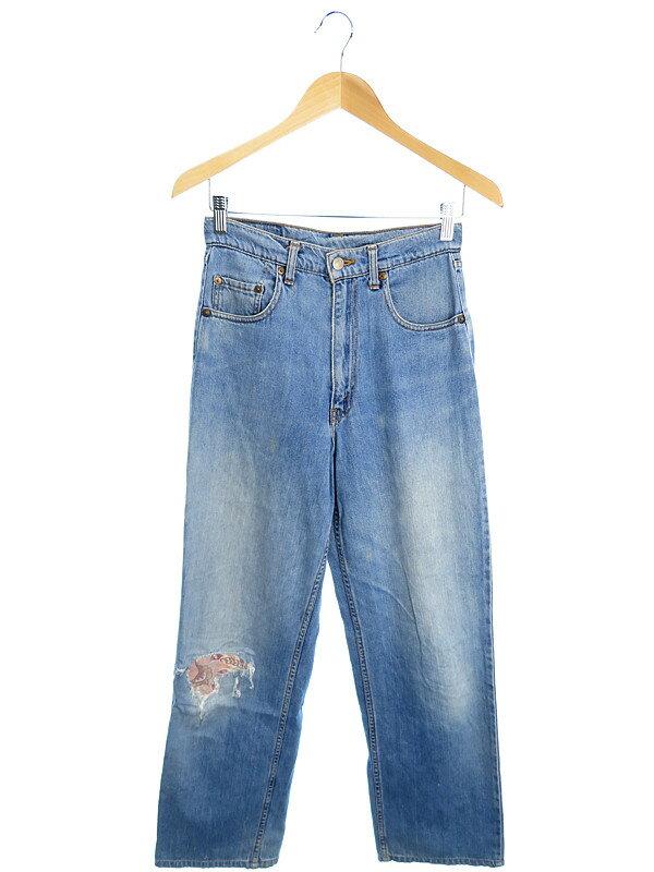 【LEVIS】【ジーパン】リーバイス『529ジーンズ sizeW28 L34』メンズ デニムパンツ 1週間保証【中古】