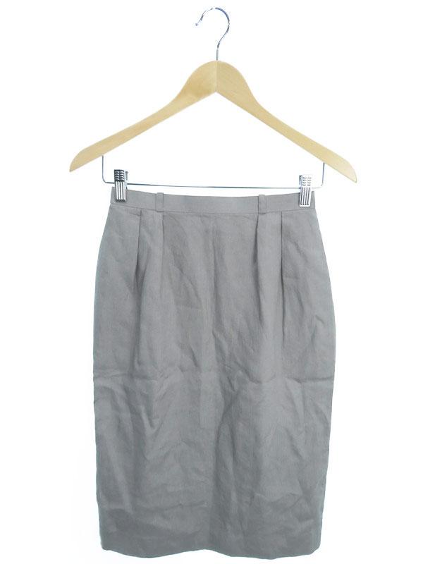 【Christian Dior】【ボトムス】クリスチャンディオール『リネンスカート sizeM』レディース 1週間保証【中古】