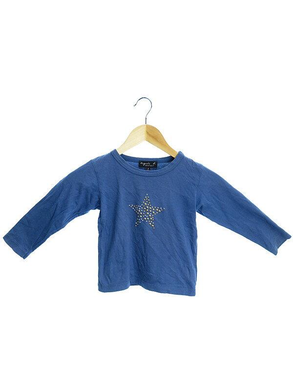 【agnes b. ENFANT】【トップス】【子供服】アニエスベーアンファン『長袖Tシャツ size4ans』メンズ 1週間保証【中古】